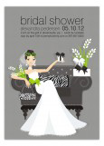 Lounging Bride Invitation
