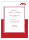 Valentines Luncheon Love Birds Invitation