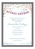 Love Birds Winter Invitation