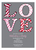 Love Gone Wild Invitation