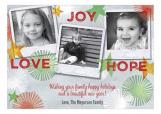 Love Joy Hope Photo Card