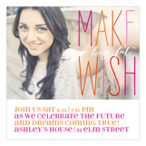 Make A Big Fat Wish Photo Card High School Graduation Announcements
