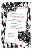 Mardi Gras Majestic Invitation