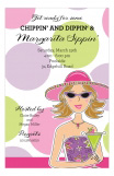 Margarita Girl Invitation