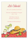 Lets Celebrate Margarita Invitations