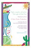 Fiesta Celebration Margarita Invitations