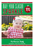 May Your Season Sparkle Photo Card