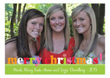 Merry Christmas Bright Photo Card