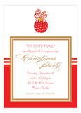 Merry Christmas Ornament Invitation