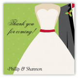 Merry Matrimony Gift Tag