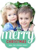 Merry Photo Card