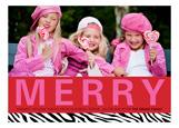 Merry Wild Photo Card