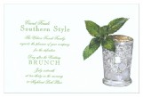 Mint Julep Invitation