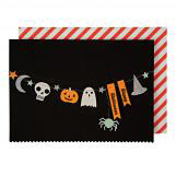 Halloween Garland Halloween Greeting Cards