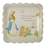 Peter Rabbit Large Scallop Edge Plates