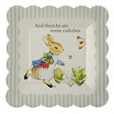 Peter Rabbit Small Scallop Edge Plate
