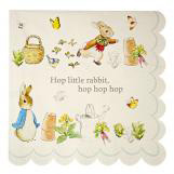 Peter Rabbit Large Scallop Edge Napkins