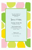 Mod Dots Invitation
