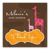 Mod Giraffe Girl Sticker