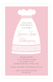 Modern Christening Girl Invitation
