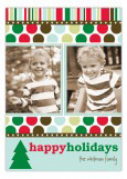 Modern Holiday Photo Card