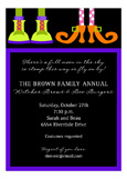 Monster Feet Couple Invitation