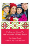 Moroccan Christmas Photo Card