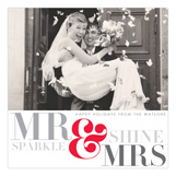 Mr & Mrs Sparkle and Shine Photo Card