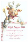 Mr. Piggy Invitation