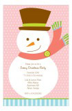Mr. Snowman Invitation