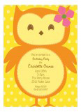 Ms. Owl Invitation