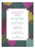 Mums of Autumn Invitation