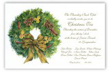 Muted Moss Wreath Invitation