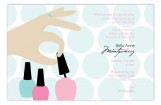 Nail Polish Prep Invitation