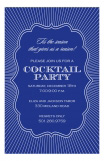 Navy Nite Invitation