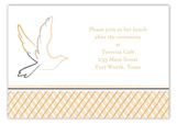 Neutral Dove Enclosure Card