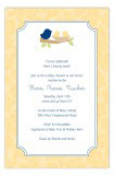 Neutral Nested Twins Invitation
