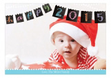 New Year Banner Photo Card