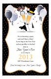 New Year Celebration Invitation