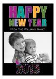 New Year Photo Card Photo Card