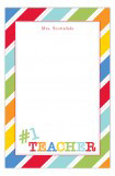 Number 1 Teacher Notepad
