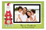 Nordic Santa Photo Card