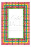 Acapulco Plaid Fiesta Party Invitation