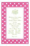 Hokey Pokey Hot Pink Party Invitation