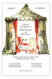 Garden Cabana Summer Cookout Invitation
