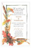 Autumn Seeds Formal Cocktail Party Invitation