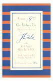 Blue and Orange Invitation