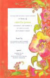 Tangerine Poppies Fiesta Invitation