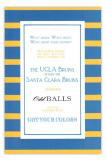 Blue and Gold Invitation