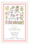 Oh Baby Girl Invitation